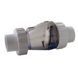 Valterra Valterra transparante terugslagklep 50mm zonder veer