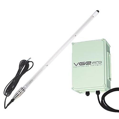 VGE Pro VGE PRO Inox Dompel UV-C 325 Watt Amalgaam set