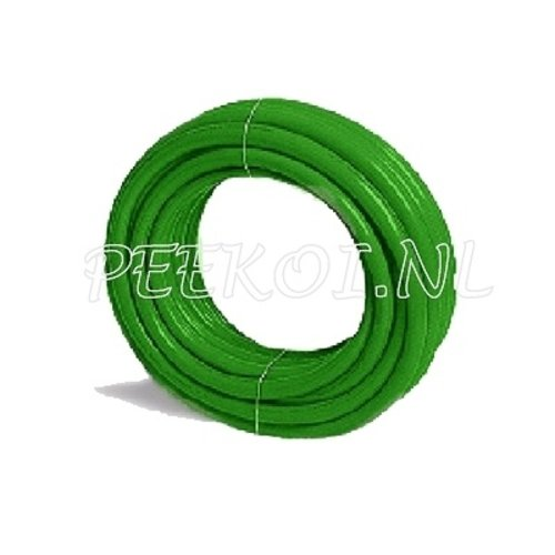 "Waterslang groen ½"" 12,5 - 16,5 mm - 25 mtr"