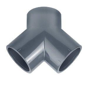 Effast PVC Y-stuk Druk 50 mm