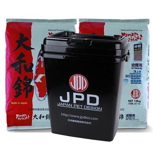 JPD | JAPAN PET DESIGN Yamato Nishiki 20 KG Medium + JPD Bewaaremmer