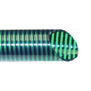 Zuig/Persslang donkergroen 50 mm (10 meter)