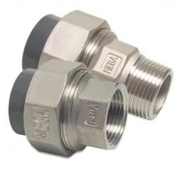 Overgangskoppelingen - PVC / RVS