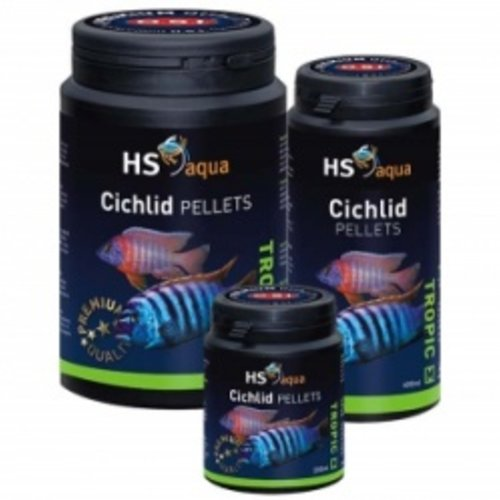 HS Aqua Cichlid Pellets Medium