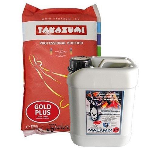 Takazumi Takazumi Gold Plus 10 KG  en Malamix 17 2,5 ltr
