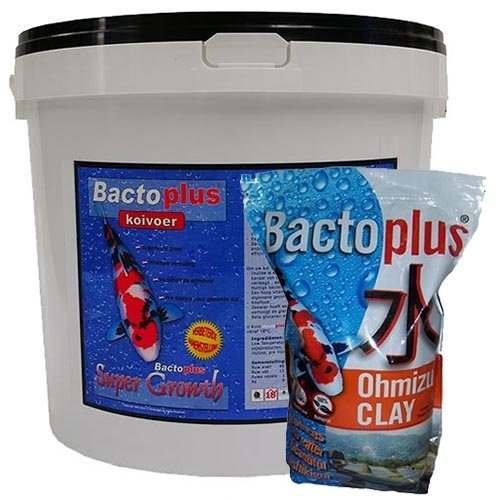 Bactoplus Bactoplus Professional Super Growth 10 KG + Ohmizu Clay 5 ltr