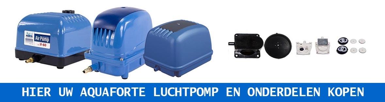 Aquaforte luchtpomp en onderdelen kopen