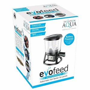 Evolution Aqua Evolution Aqua evoFeed Automatic Pond Fish Feeder