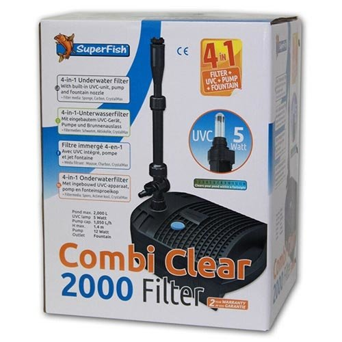 Superfish Superfish Combi Clear 2000 Filter