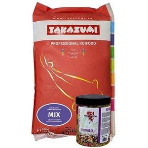 Takazumi Takazumi Mix 10 KG + Koi Muesli 500 gram