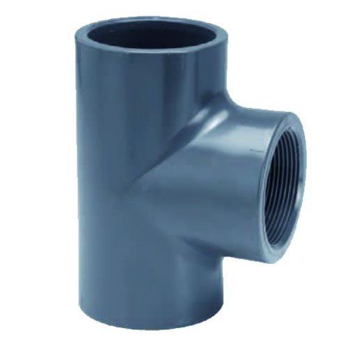 """Effast PVC T-stuk Druk 90°  20 x ½"""" binnendraad"""