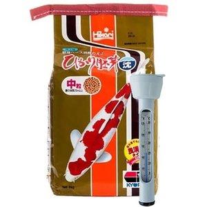 Hikari / Saki Hikari Hikari Wheat Germ SINKING M 5 Kg en Thermometer