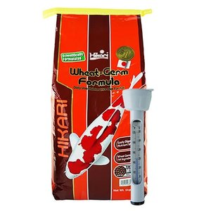 Hikari / Saki Hikari Hikari Wheat Germ Formula Medium 5 KG en Thermometer