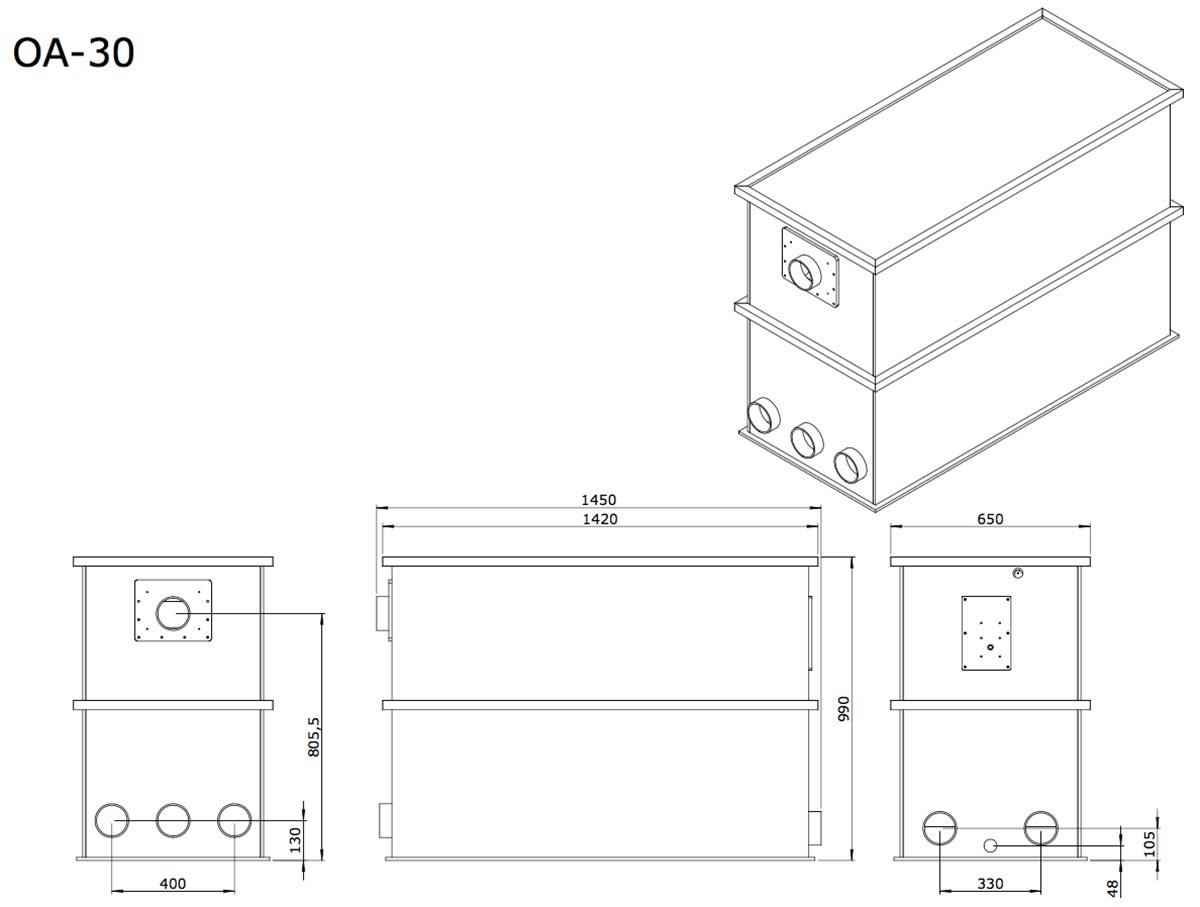 vijver-aem-oa-30-combi-totaalfilter-detail-tekening