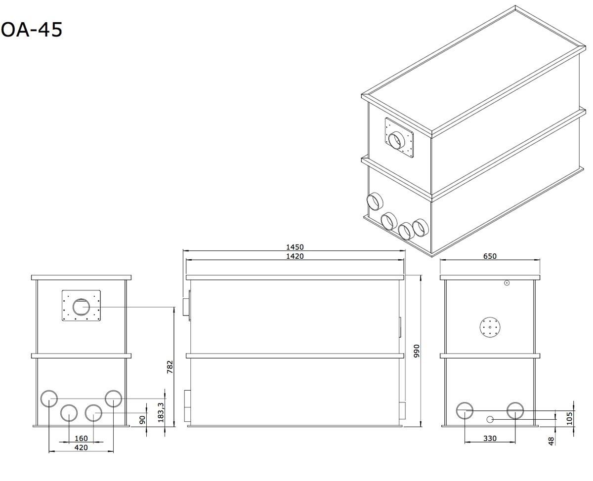 aem-oa-45-combi-totaalfilter-detail-tekening