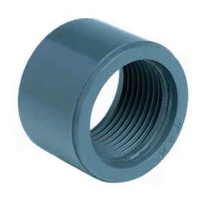 """Effast PVC lijmring 32 mm x ¾"""" Binnendraad (B)"""