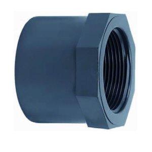 """Effast PVC lijmring 40 mm x ¾"""" Binnendraad (A)"""