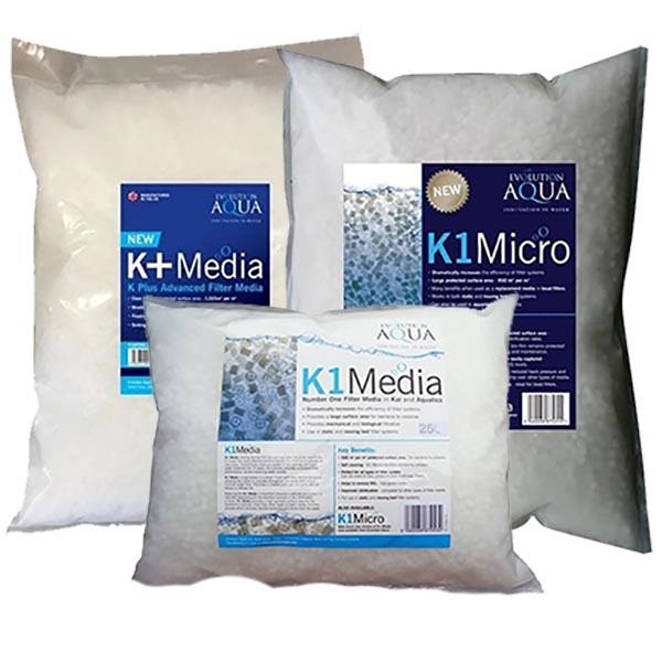 K1 Media,  K1 Micro en K+ (Plus) Media