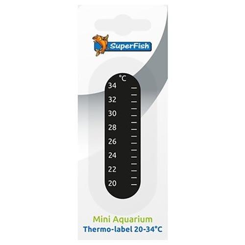 Superfish Superfish PlakThermometer 20-34 C