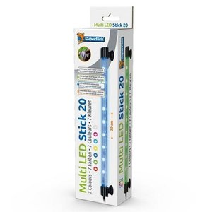 Superfish Superfish Multi LED Stick 20 cm / 2 watt