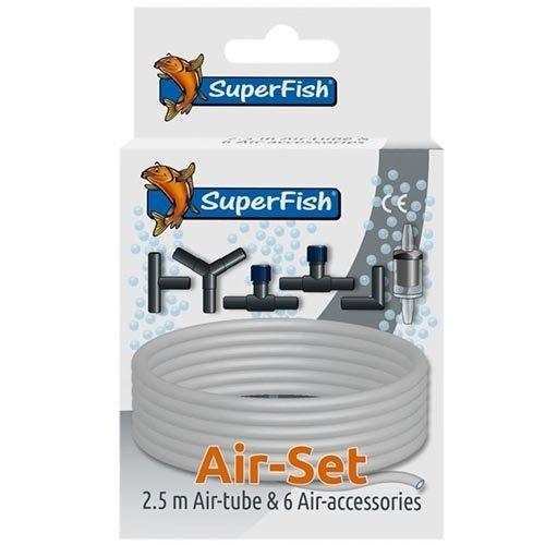 Superfish Superfish Luchtslang en toebehoren kit