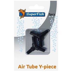 Superfish Superfish Luchtslang Y-Koppelstuk 4 mm - 2 stuks