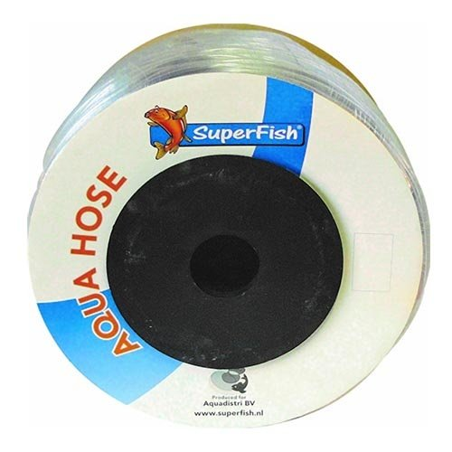 Superfish Superfish luchtslang transparant 4-6 mm, 200 meter