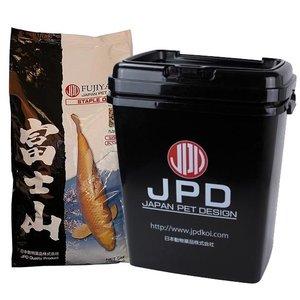 JPD | JAPAN PET DESIGN Fujiyama 10 KG Medium met JPD Bewaaremmer