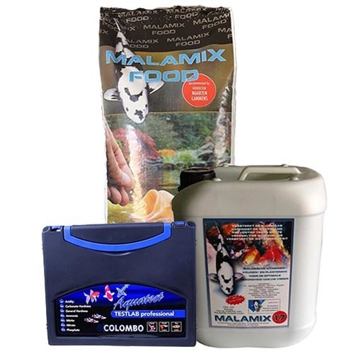 De Koidokter Malamix Food 10 KG en Malamix 17 5 Ltr en Colombo Testlab 6