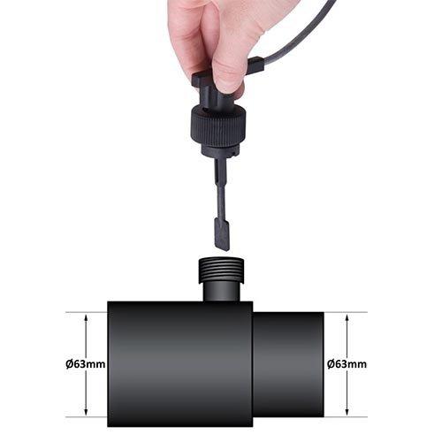 Flow switch 63 mm