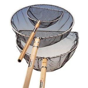 Merkloos Japans net rond 25 cm steel 16 cm