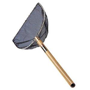Merkloos Japans net half rond 35 cm      steel 60 cm