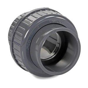 IBG PVC 3/3 koppeling met O-ring 50 mm IBG