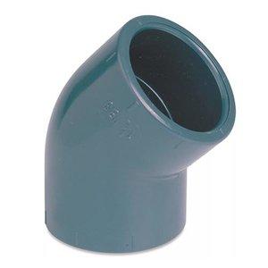 IBG PVC Knie Druk 45º 63 mm