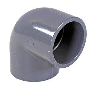 IBG PVC Knie Druk 90º 63 mm IBG