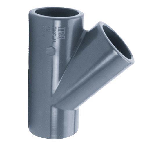 IBG PVC T-stuk Druk 45° 63 mm IBG