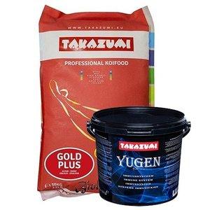Takazumi Takazumi Gold Plus 10 KG  (Met Biolex-Mos) +  Yugen 2500 gram