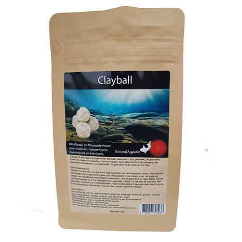 Natural Aquatic Natural Aquatic Clayball  3 stuks