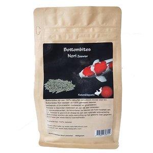 Natural Aquatic Natural Koifood Bottombites Nori 400 gram ( Zeewier)
