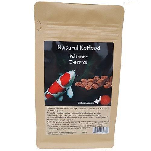 Natural Aquatic Natural Koifood Koitreats Insecten 350 gram