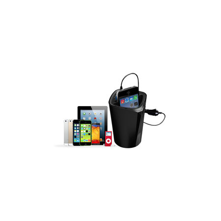 Orico  3 poort USB autolader met pashouder
