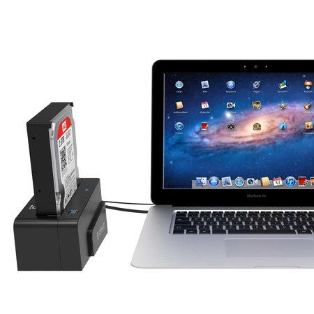 Orico  USB 3.0 en eSATA HDD/SDD Docking Station voor 2.5 en 3.5 inch harde schijven