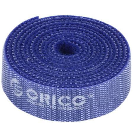 Orico  Herbruikbare Kabelbinders - Multicolor set van 5 - In de kleuren blauw, rood, zwart, geel en groen - 1M lang per stuk - In te korten