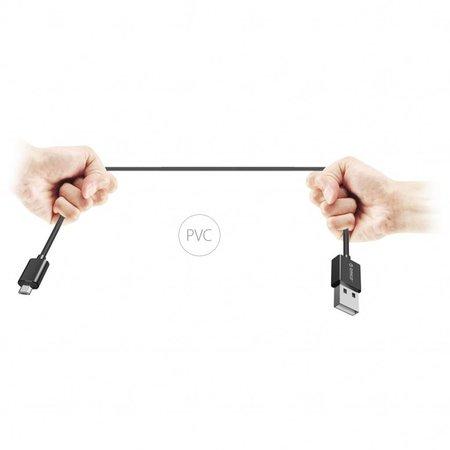Orico  2 Meter Extra Lange Oplaadkabel – 3 Ampère - Fast Charge – Dataoverdracht – Micro USB – Zwart