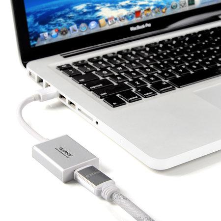 Orico  Mini DisplayPort naar HDMI adapter Zilverkleurig Mac Style