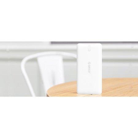 Orico  10000mAh Power Bank Li-Po 2.4A Smart Charge Externe Accu Wit
