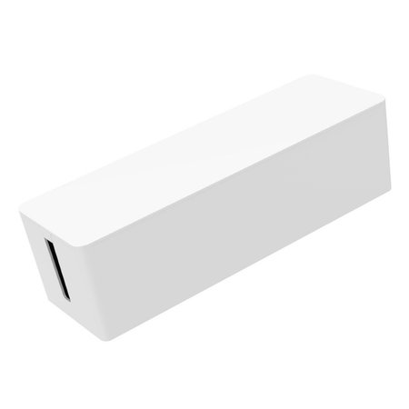 Orico  Compacte stekkerdoos beschermer – Kabelmanagement – Extra veiligheid voor Kinderen/Huisdieren – Warmtebestendig ABS-materiaal Wit