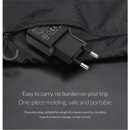 Orico  USB wall charger mini thuislader compacte reislader 1A / 5W - Wit