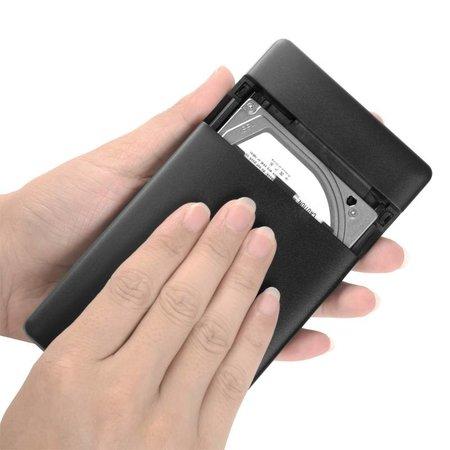 Orico  Harde Schijf Behuizing 2,5 inch / Metaal & Kunststof / HDD / SSD / USB3.0 / Zwart