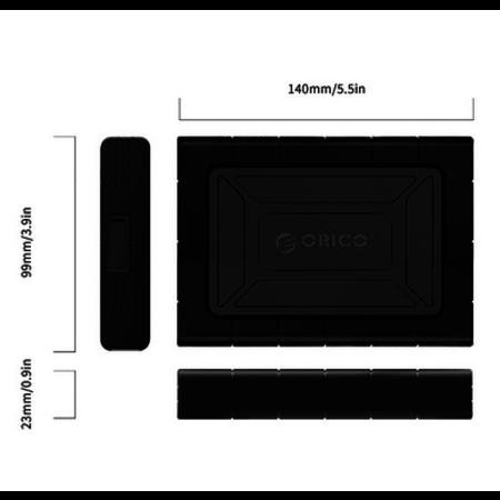 Orico  Schokbestendige hardeschijf behuizing 2.5 inch
